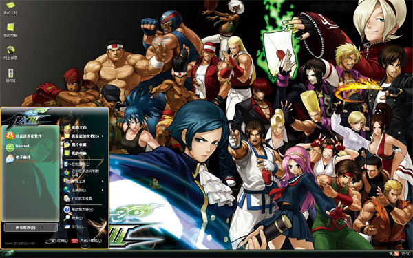 游戏拳皇XIIIW8主题下载