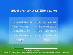 雨林木风Ghost Win10 (32位) 电脑专用版v201703(无需激活)