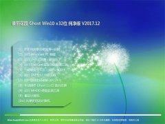 番茄花园Ghost Win10 (32位) 万能纯净版2017V12(无需激活)
