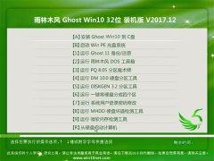 雨林木风Ghost Win10 (X32) 推荐装机版2017V12(激活版)