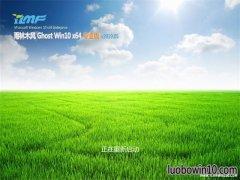 雨林木风Ghost Win10 X64位 热门专业版 V2019年05月(激活版)